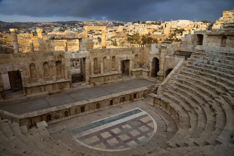 19 Gerasa-Theater